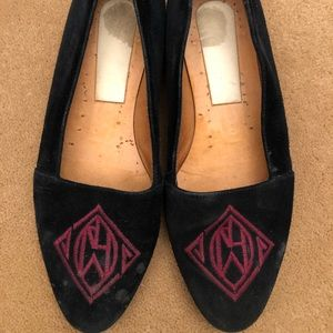 Slip on Flat With embroidered RL logo